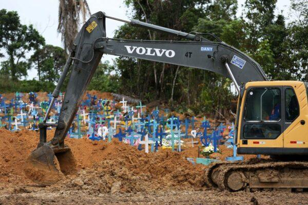 中共肺炎 巴西死亡創新高 亞馬遜區向21位領袖求救