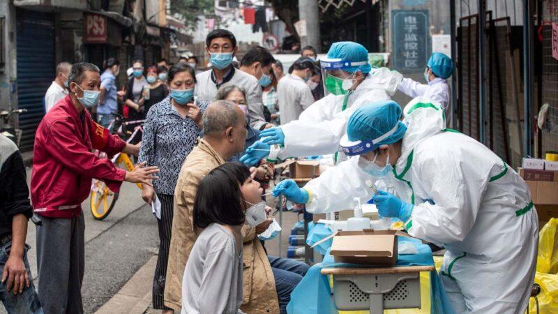傳武漢大學檢測出逾百陽性 官方一例未公布