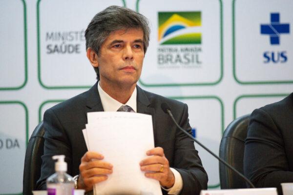 中共病毒 巴西累计21万例 新任卫生部长下台