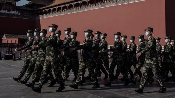 【重播】北京战时状态 两会会场附近现集体发烧