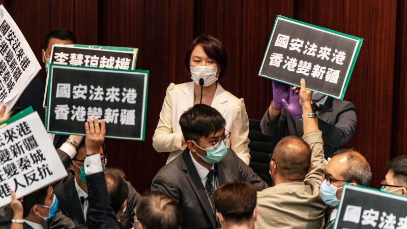 港版国安法细节曝光:大陆国安机构进驻香港