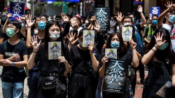 港版國安法震動全香港 「藍絲」也想逃
