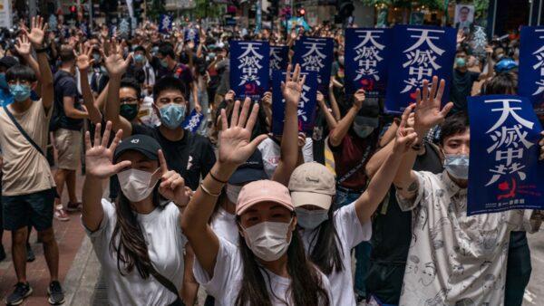 香港民調:中共強推港版國安法 64%港人反對