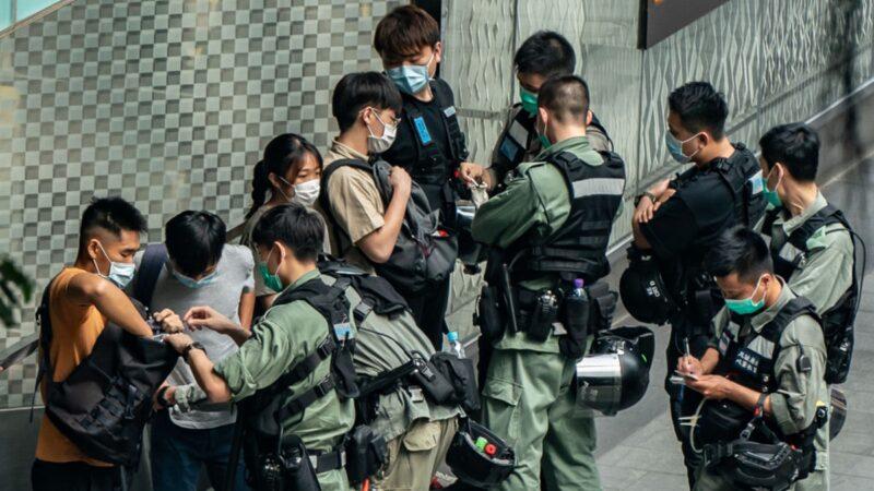 """组图:港人5.27""""大三罢"""" 警方已抓360人"""