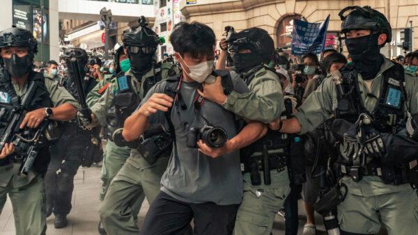 川普表态:中共强推国安法 香港金融中心地位难保