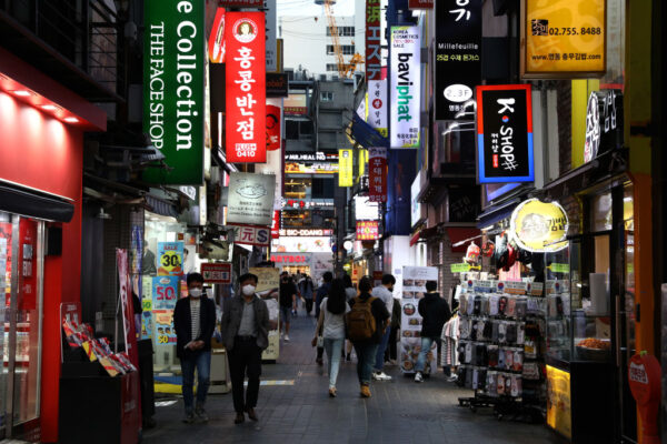 梨泰院傳出中共肺炎病例 韓國夜店暫停營業30天