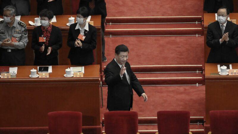 中共政协开幕式 习近平无罩现身 汪洋老调重弹