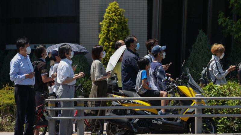 日本全面解禁 東京景點現人潮 配戴口罩比率增