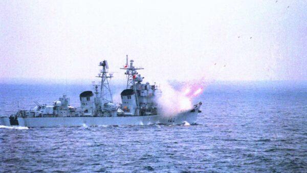 大疫下 中共通告渤海實彈軍演2個半月