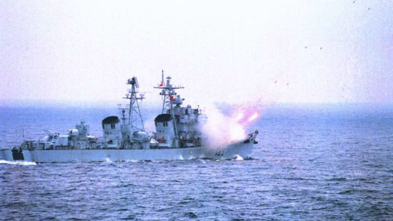 大疫下 中共通告渤海实弹军演2个半月