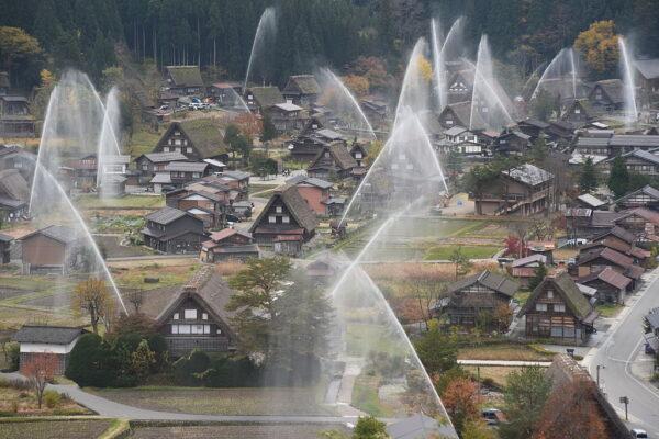 防疫封村 日本合掌村重返25年前寧靜