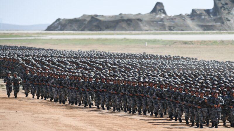 准备开战?中共军队重兵集结中印边境
