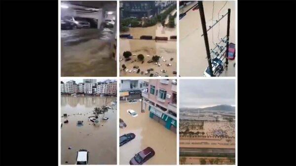 一夜驚雷暴雨 廣州東莞進入「看海」模式(視頻)