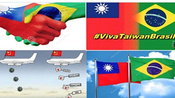 中共密信再掀波瀾 巴西網民狂推「台灣萬歲」