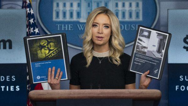媒体攻击川普服用羟氯喹 白宫发言人回击