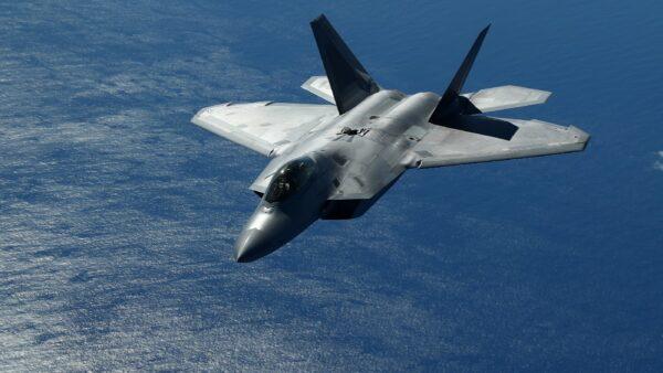 美空军推出对华战争新方案 F-22猛禽战机担重任