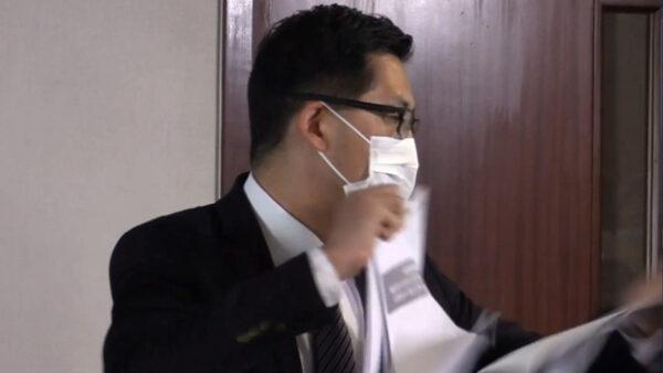 林卓廷怒撕監警會報告 港人「和你shop」抗議港府