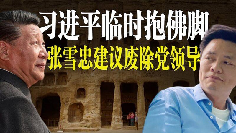 【老北京茶館】習近平雲岡石窟臨時抱佛腳?張雪忠驚呆兩會:重新立憲、廢除黨領導!