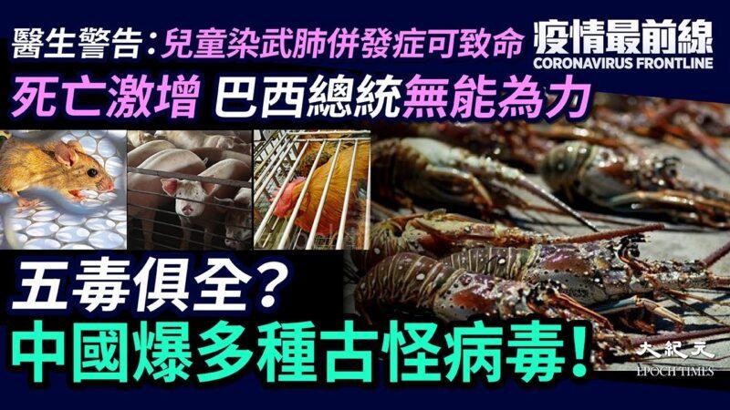 【疫情最前线】五毒俱全?中国爆多种古怪病毒