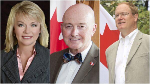 加拿大三級政要賀法輪大法洪傳28週年(3)