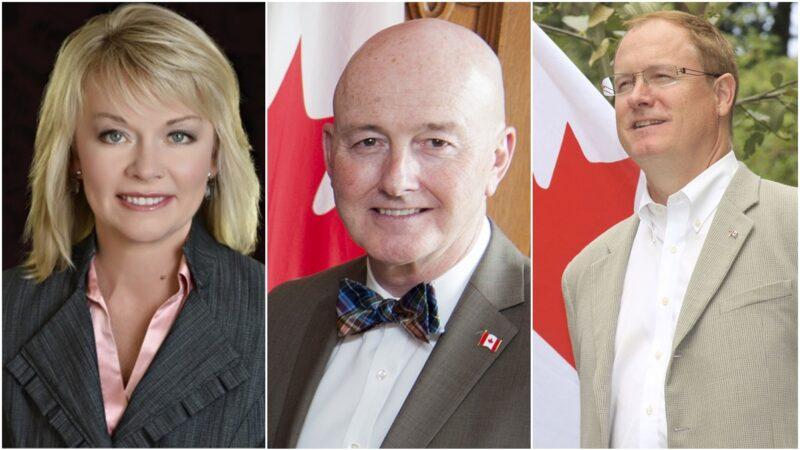 加拿大三级政要贺法轮大法洪传28周年(3)
