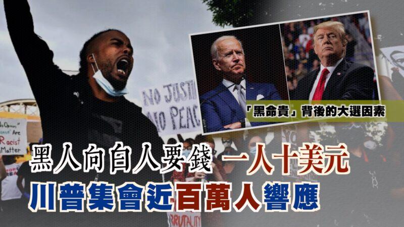 """【西岸观察】""""黑命贵""""给白人列十要求 抢遗产要住房"""