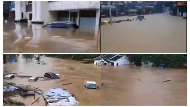 老黑:暴雨淹城 长沙重庆昭通告急 三峡大坝南水北调统统失效