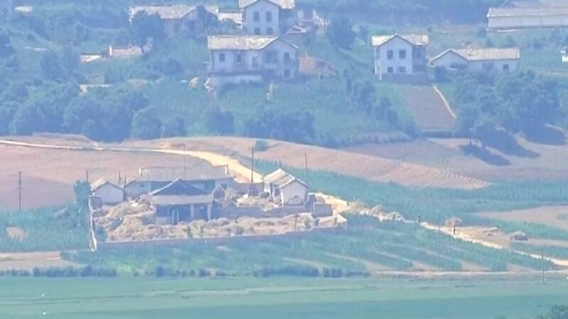 朝鮮士兵持鏟子鐮刀抵邊界 西岸炮門大開