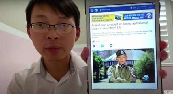 大圣:乱上加乱,华裔携带鬼枪假扮国民兵在洛杉矶执法被抓