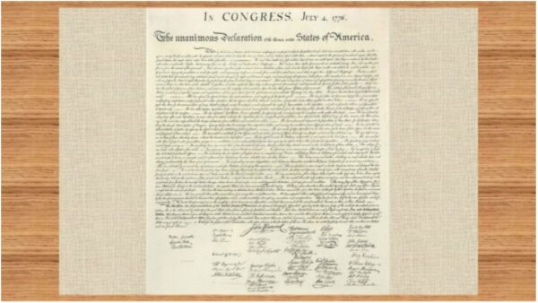 美国独立宣言精髓:奉创世主意旨所建(图)