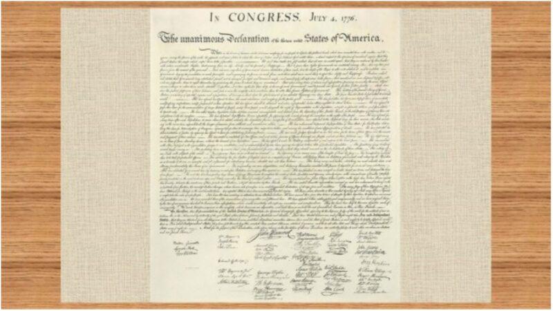 美國獨立宣言精髓:奉創世主意旨所建(圖)