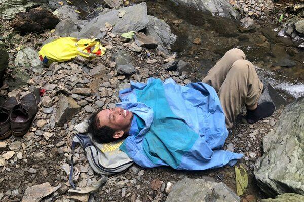 奇蹟!山區迷路10天 屏東男子靠喝水和尿支撐獲救