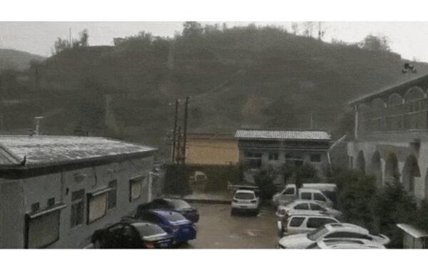 陕西再遭冰雹袭击农作物受损 网友叹:灾祸异象齐至