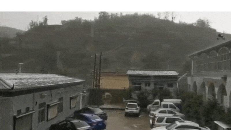 陝西再遭冰雹襲擊農作物受損 網友嘆:災禍異象齊至