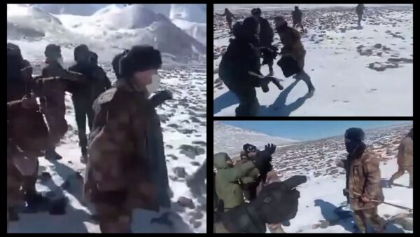 中印士兵巡邏途中群毆 最新影片曝光(視頻)