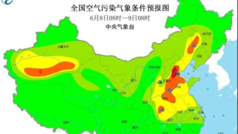 大陸復工復產 北京空氣污染重現