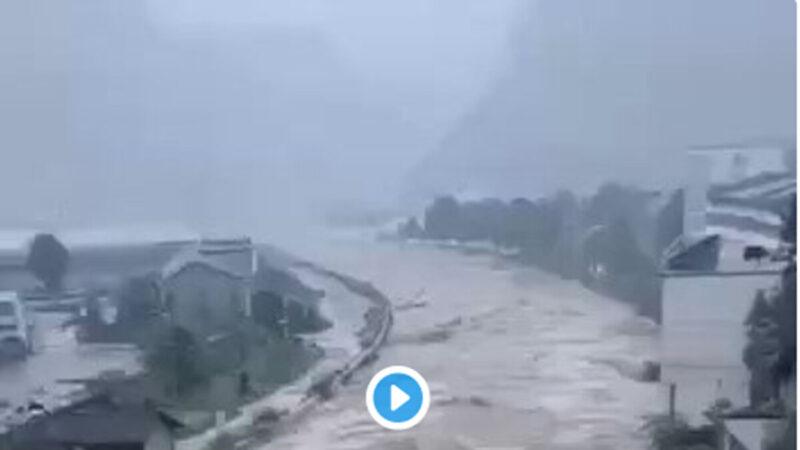 南方洪災擴大 三峽危急竟成敏感資訊