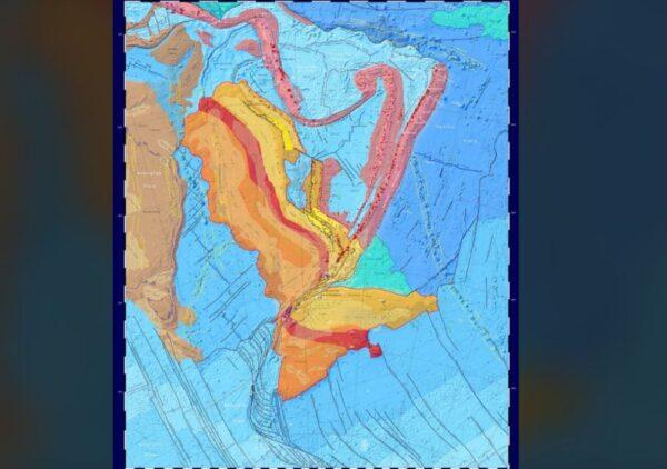 「西蘭大陸」新地圖問世 94%土地8500萬年前沉入海底