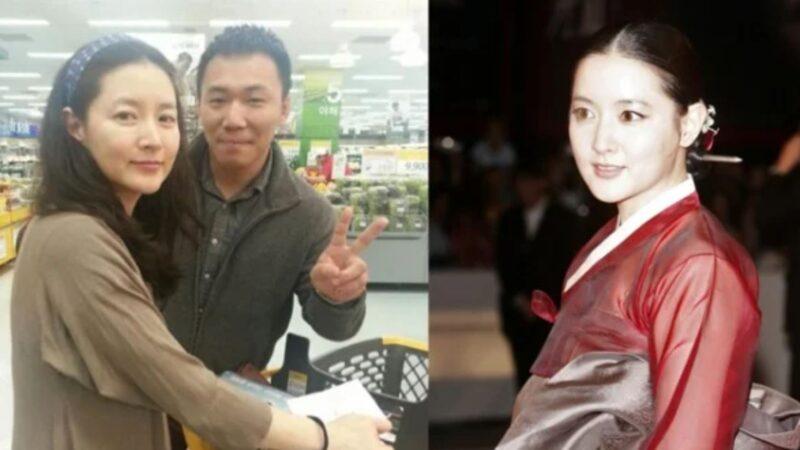 """超市捕获""""氧气美女"""" 49岁李英爱素颜曝光"""