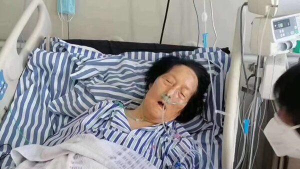申紀蘭病危照熱傳 網民疑兩會期間染疫