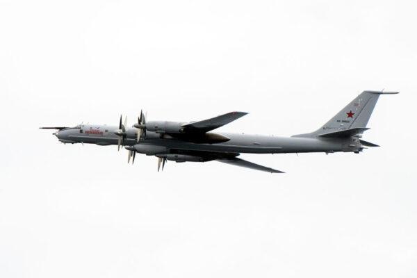 空中角力 美戰機本月第4度攔截俄偵察機