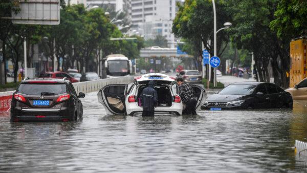 中国南方豪雨近180万人受灾 已知9死5失踪