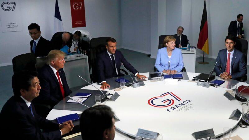 川普拟邀澳印韩俄加入G7 建立反共新联盟?
