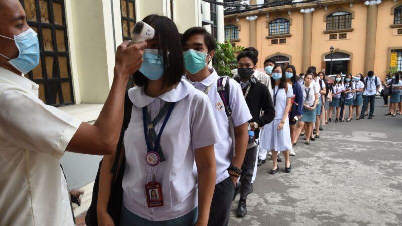 疫苗未问世 菲律宾千万学童不准回校上课