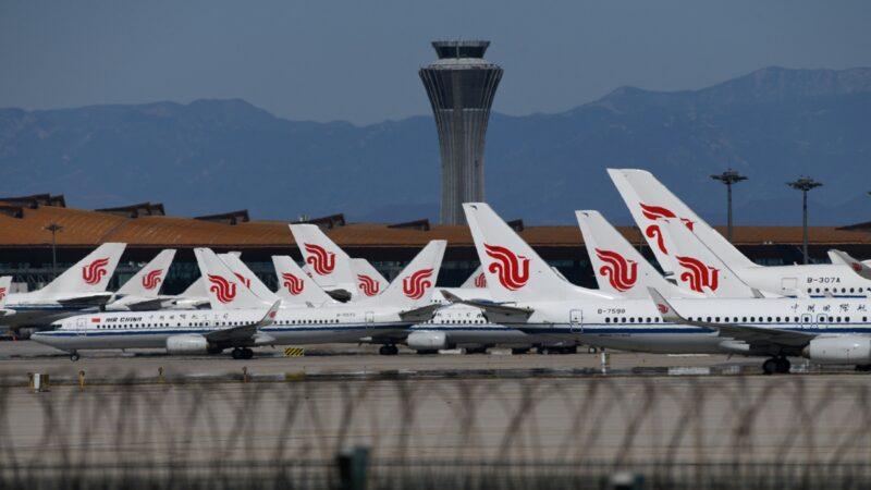 北京机场现逃难潮 离境班机全爆满
