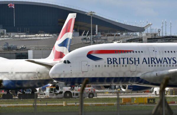 入境隔離14天 英國3家航空公司告政府