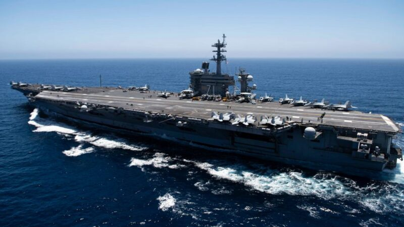 美軍高調宣示雙航母打擊 中共「戰狼」靜悄悄