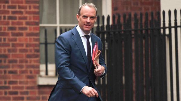 英外交大臣:捍卫香港自由 宁弃英中贸易协议