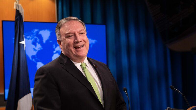 美國務卿斥責中共「下流謊言」 冷酷利用弗洛伊德之死