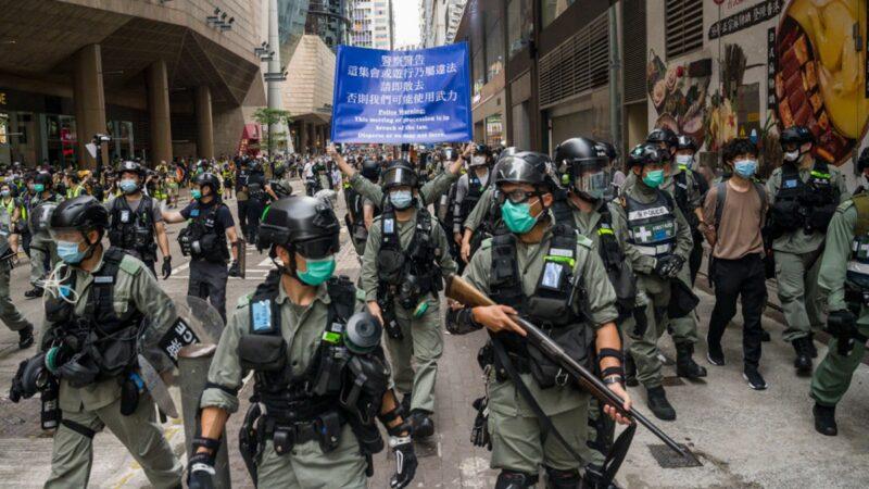 香港爆群聚感染6人确诊 2警察神秘猝死